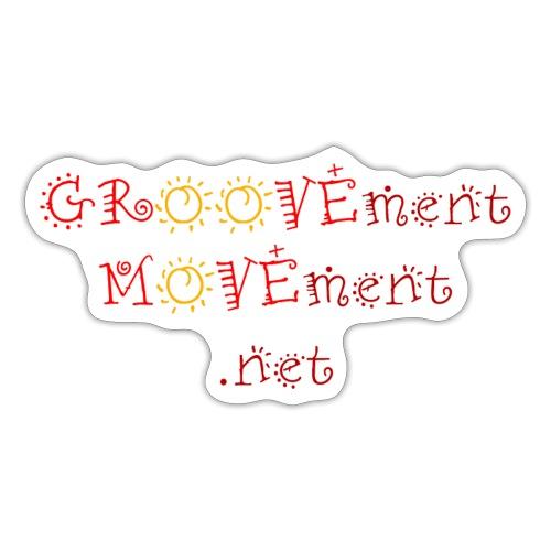 GROOVEment MOVEment 1 - Sticker