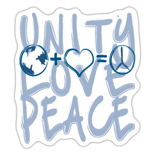 Unity Love Peace - Sticker