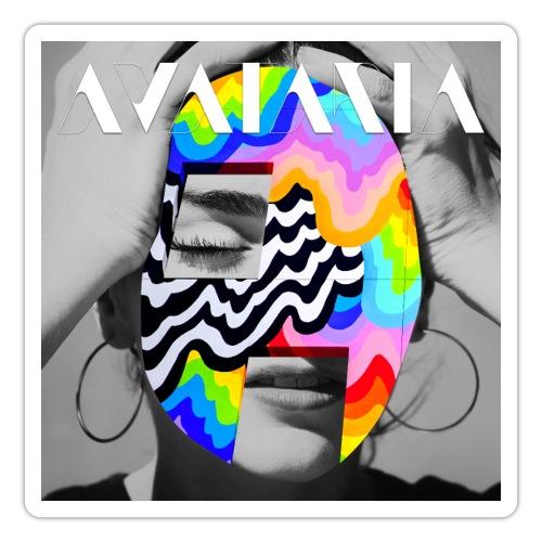 avataria head over heels with logo - Sticker