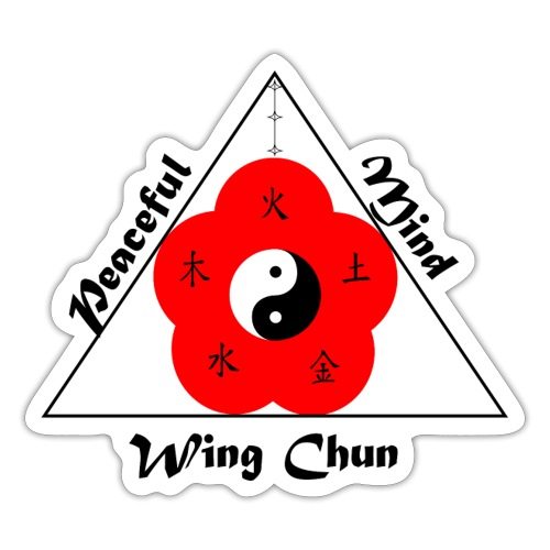 Peaceful Mind Vector - Sticker