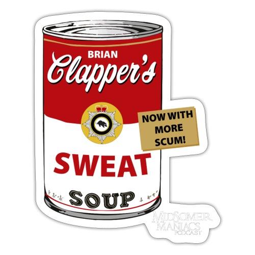 Midsomer Maniacs Podcast - Clapper's Scum Soup 1 - Sticker