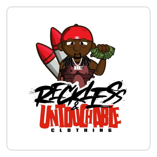Reckless and Untouchable_1 - Sticker