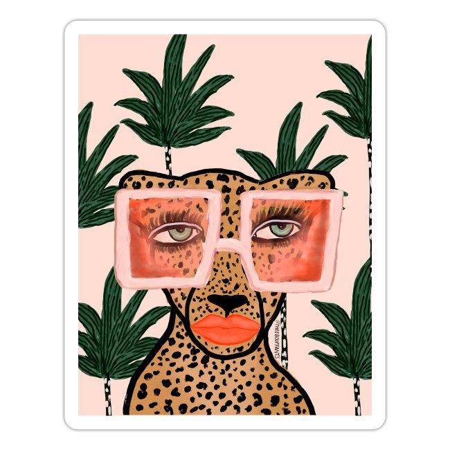 Tropical Glam Cat