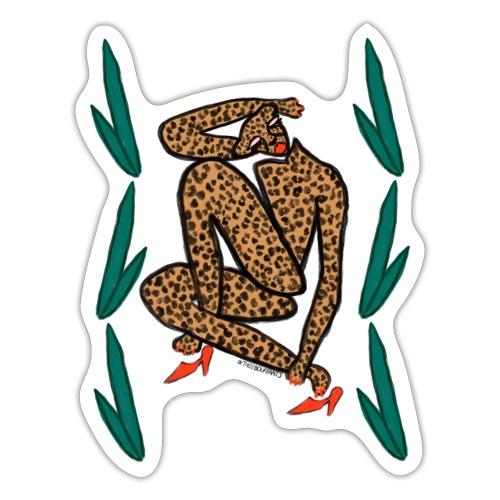 Matisse Cheetah - Sticker