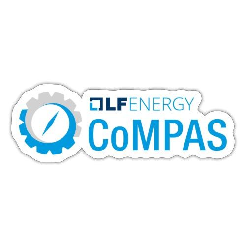 compas sticker - Sticker