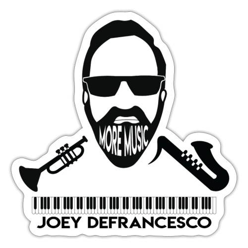 More Music Joey D front image - Sticker