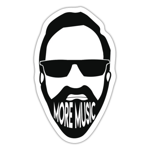 Joey D More Music front image multi color options - Sticker