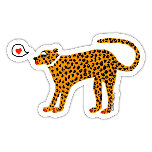 Glam Cat - Sticker
