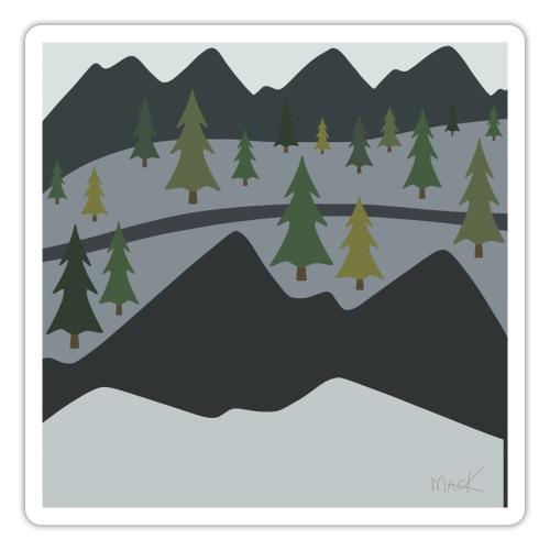 Scenic View - Sticker
