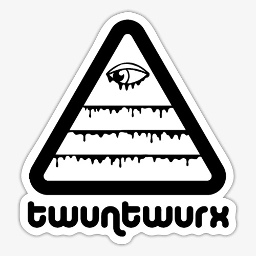 twuntinz bw - Sticker