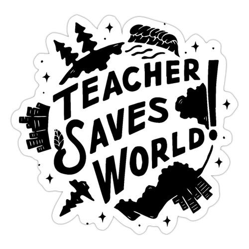 TSW! Retro World Design - Sticker