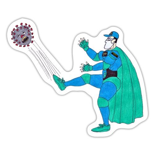 PYGOD Man vs COVID 19 - Sticker