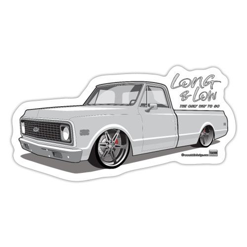 Long & Low C10 - Sticker