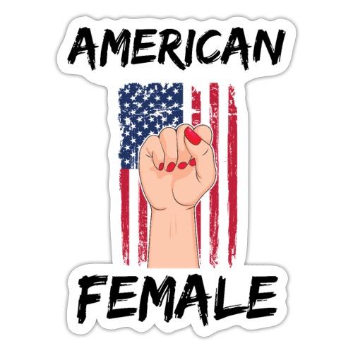 AMERICAN FEMALE - Sticker
