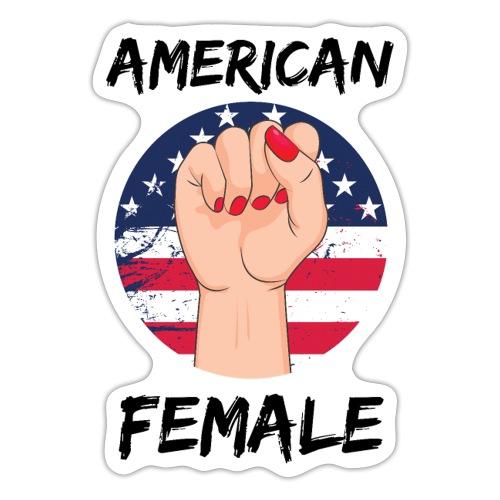 American Fimale apparel - Sticker