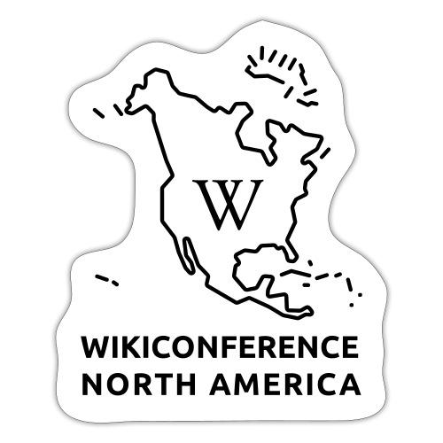 WikiConference North America Logo - Sticker