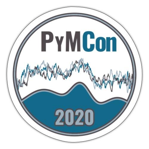 PyMCon Logo - Sticker