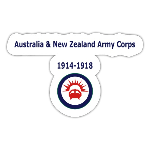 Australia & New Zealand Army Corps - Sticker