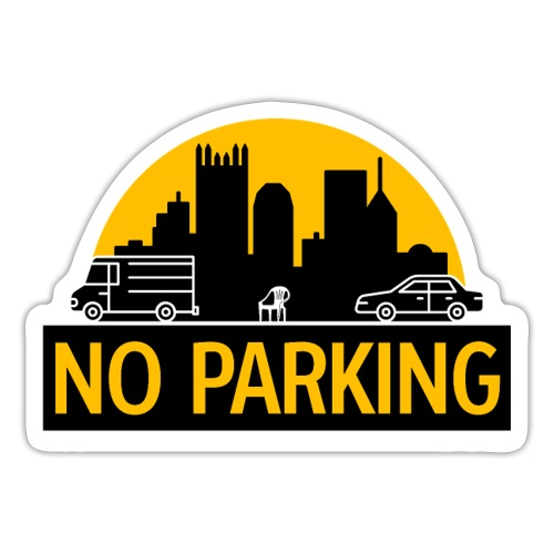 No Parking - Sticker