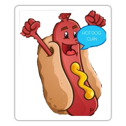 Hot dog clean water bottle - Sticker