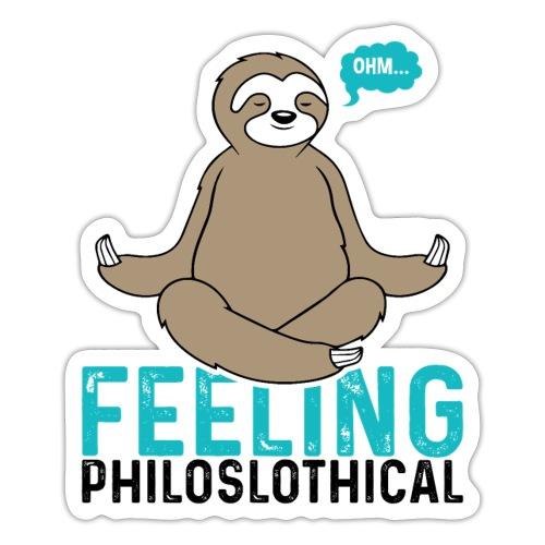 Feeling Philoslothical - Sticker