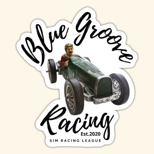 Blue Groove Racing Est 2020 - Sticker