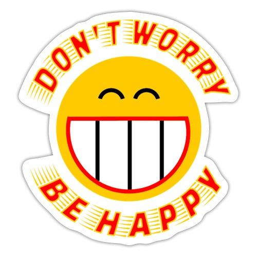 Be Happy - Sticker