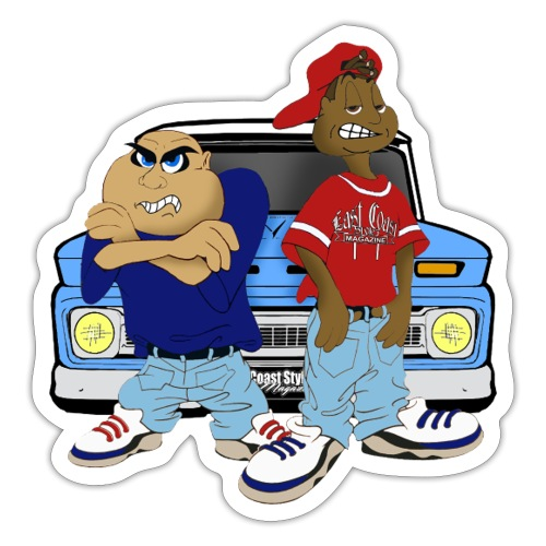 Old School Gangsta  - Sticker