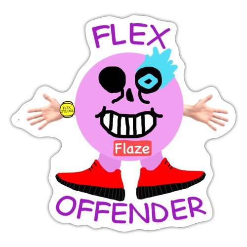 Flex Offender - Sticker