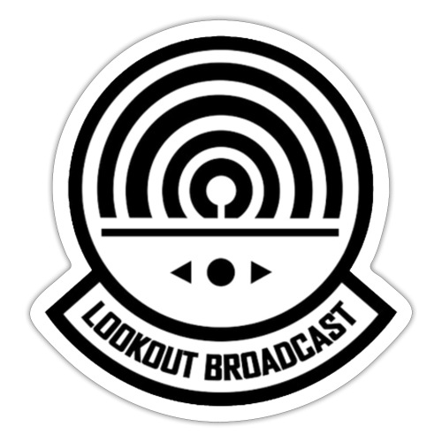 Lookout Broadcast logo game - Sticker