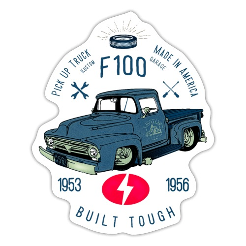 F100 Built Tough - Sticker
