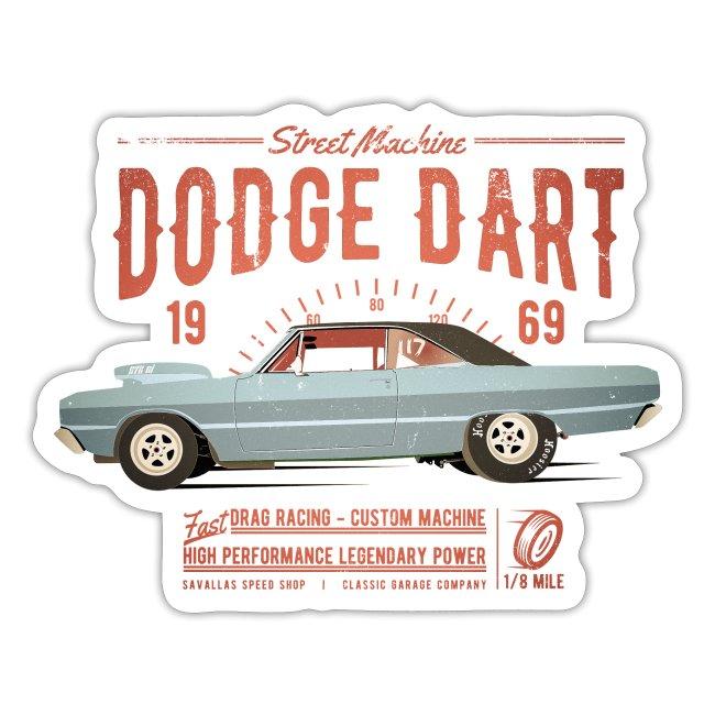 Dodge Dart Dragster Street Machine 1969