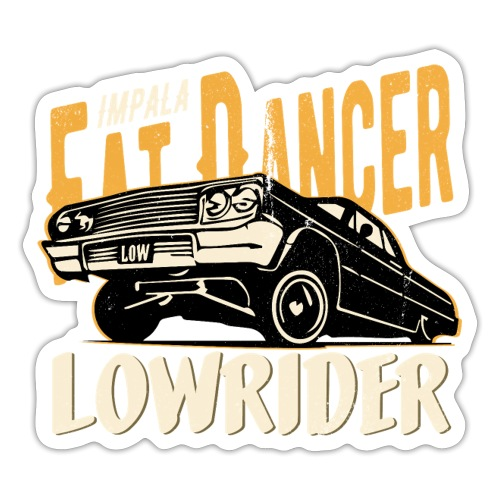 Chevy Impala - Fat Dancer - Sticker