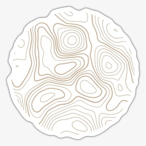 Contour Circle - Sticker