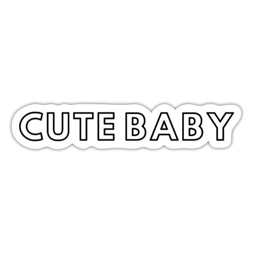cute baby - Sticker