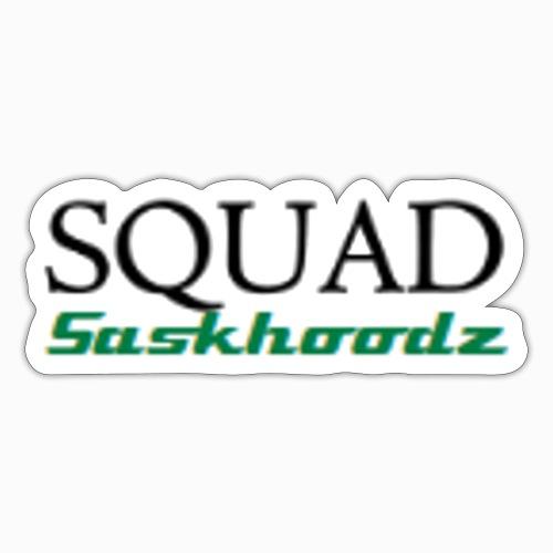 Squad Saskhoodz - Sticker