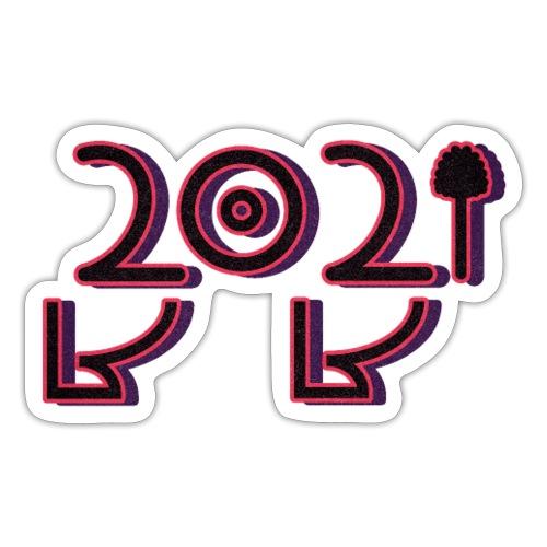 2021 - Sticker