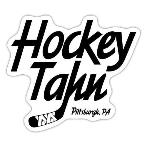 Hockey Tahn (on Gold) - Sticker