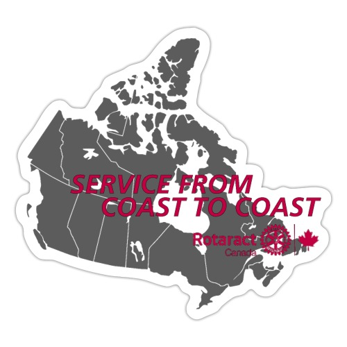 Coast to Coast - Sticker
