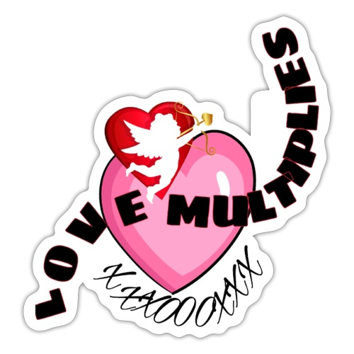 Love multiplies - Sticker
