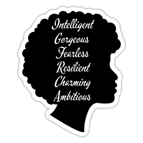 Attributes of a woman - Sticker