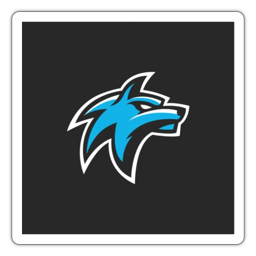 wolf head esport gaming logo vector 44095 55 - Sticker