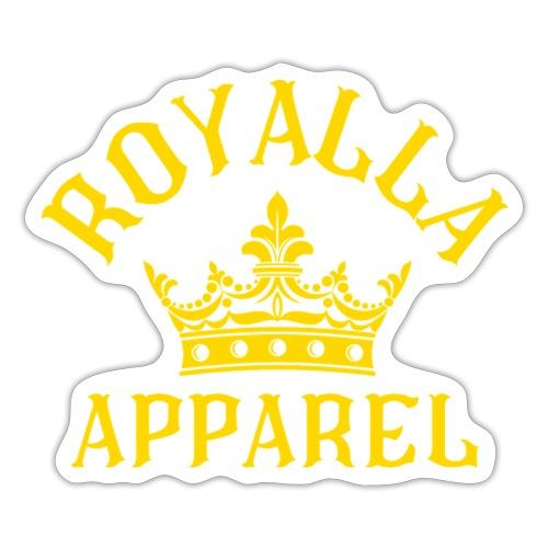 Royalla Apparel Gold Print - Sticker