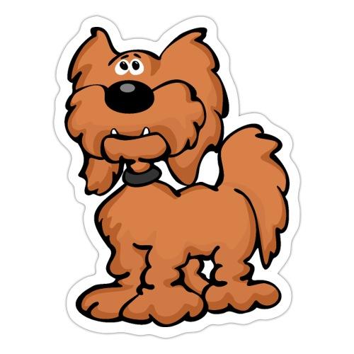 Goldendoodle Dog Cartoon - Sticker