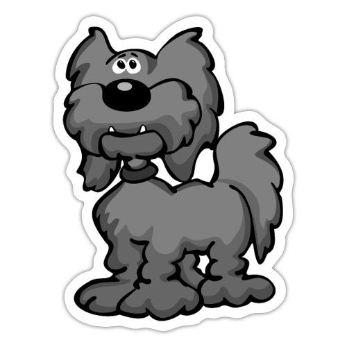 Aussiedoodle Dog Cartoon - Sticker
