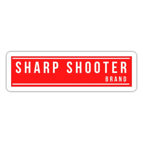 SHARP SHOOTER BRAND 1 - Sticker
