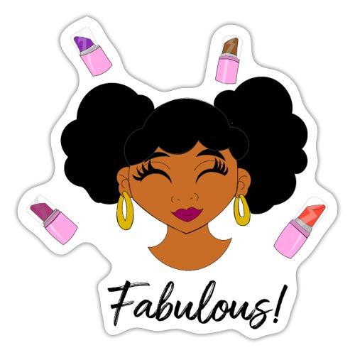 fabulous lipstick - Sticker