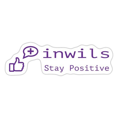 stay positive basic - Sticker