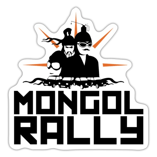 Mongol Rally - Sticker
