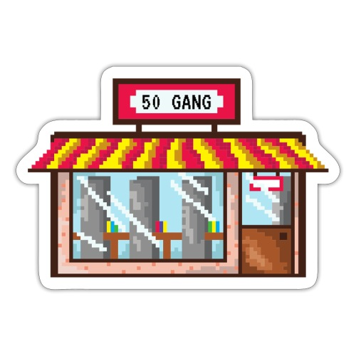 50 GANG! - Sticker